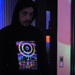 """Eclipse Over Stonehenge"" Men's UV-blacklight & Glow-in-the-dark Hoodie"