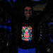 """The Hand"" Men's UV-blacklight & Glow-in-the-dark Hoodie"