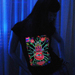 """The Hand"" Women's UV-blacklight & Glow-in-the-dark T-shirt"